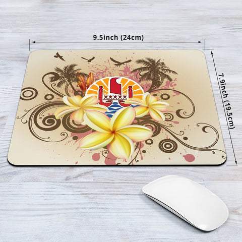 Tahiti Polynesian Mouse Pad - Summer Tropical - BN12