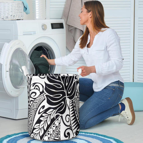 Image of Polynesian Laundry Basket - Poly 53