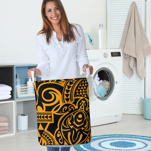 Image of Polynesian Laundry Basket - Poly 51