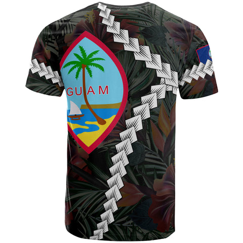 Image of Guam Polynesian Custom Personalised T-Shirt - Chain Polynesian