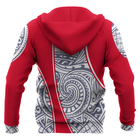 Image of French Polynesia Hoodie Gash Style Bn10