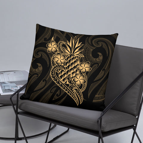 Image of Polynesian Basic Pillow - Gold Pineapple