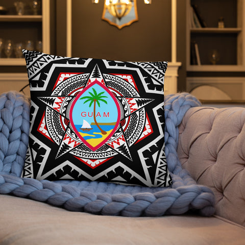 Guam Pillow - Mandala Star Patterns - BN01