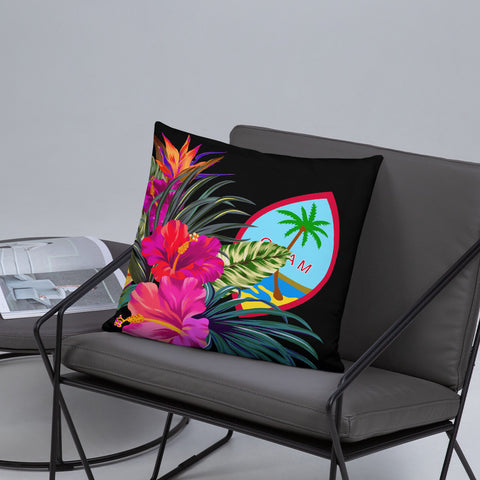 Guam Polynesian Basic Pillow - Tropical Bouquet - BN12