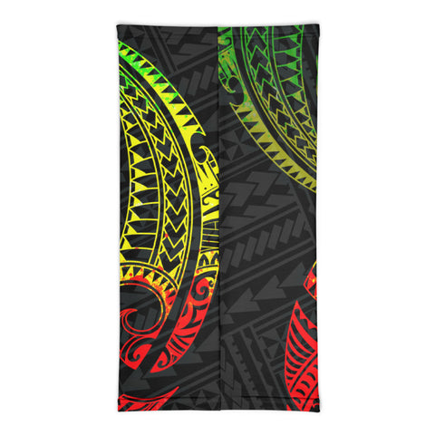 Image of Guam Polynesian Neck Gaiter - Reggae Tribal Wave - BN12