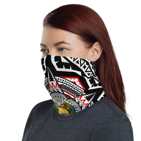 Nauru Neck Gaiter - Mandala Star Patterns - BN01