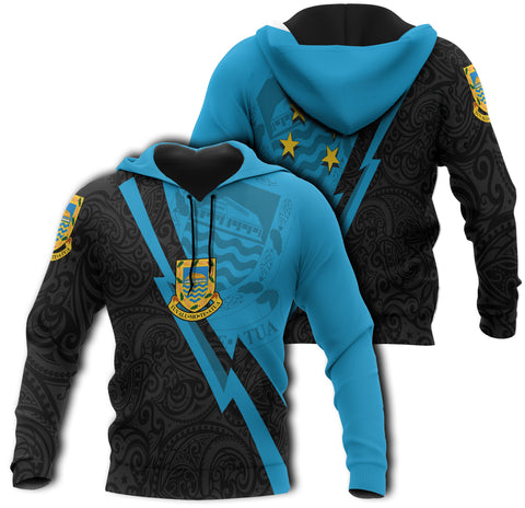 Image of Tuvalu Hoodie, Lighting Version, Hoodie clothing, Hoodie