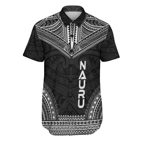 Nauru Polynesian Chief Shirt - Black Version