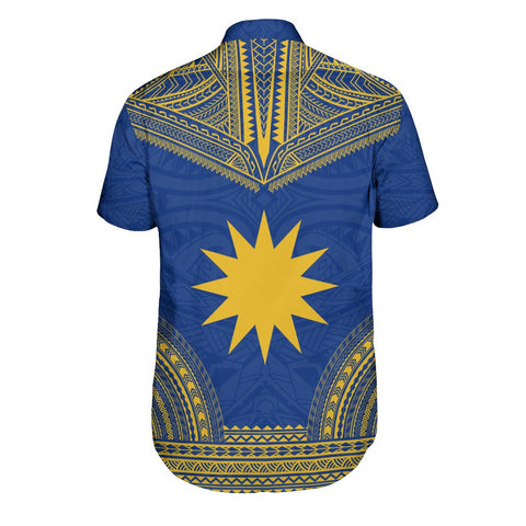 Nauru Polynesian Chief Shirt - Flag Version
