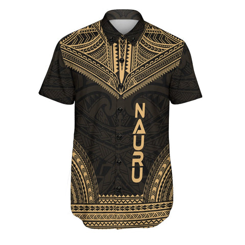 Nauru Polynesian Chief Shirt - Gold Version