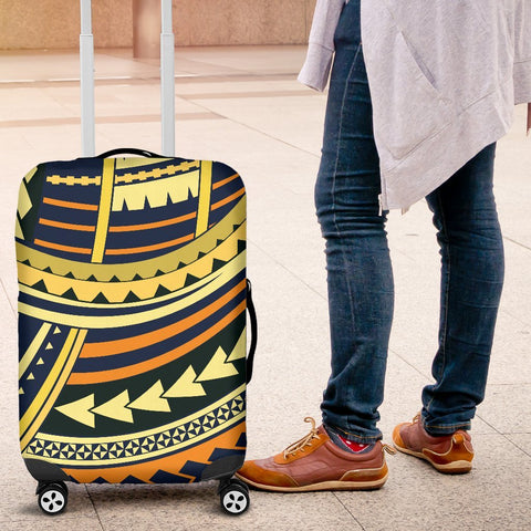 Image of Polynesian Tattoo Luggage Cover