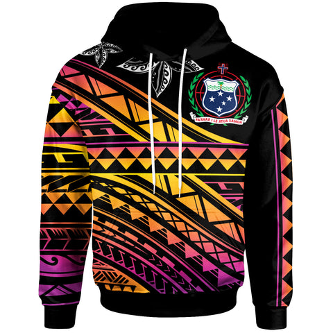 Samoa  - Custom Personalised Hoodie - Special Polynesian Ornaments - BN20