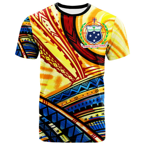 Samoa T-Shirt - The Twilight Of Samoa Paint Style - BN20