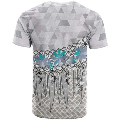 Tahiti T-Shirt - Coconut Leaves Weave Pattern - BN20