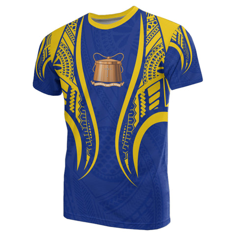Image of Tokelau T-Shirt - Tokelau Coat Of Arms Polynesian Stylized - Bn10