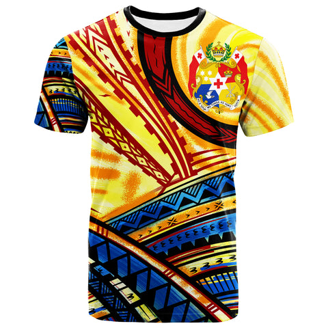 Tonga T-Shirt - The Twilight Of Tonga Paint Style - BN20