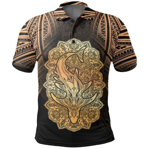 Image of Wild Shark Polynesian Polo Shirt - BN39