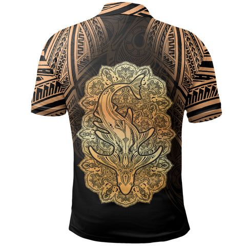 Wild Shark Polynesian Polo Shirt - BN39