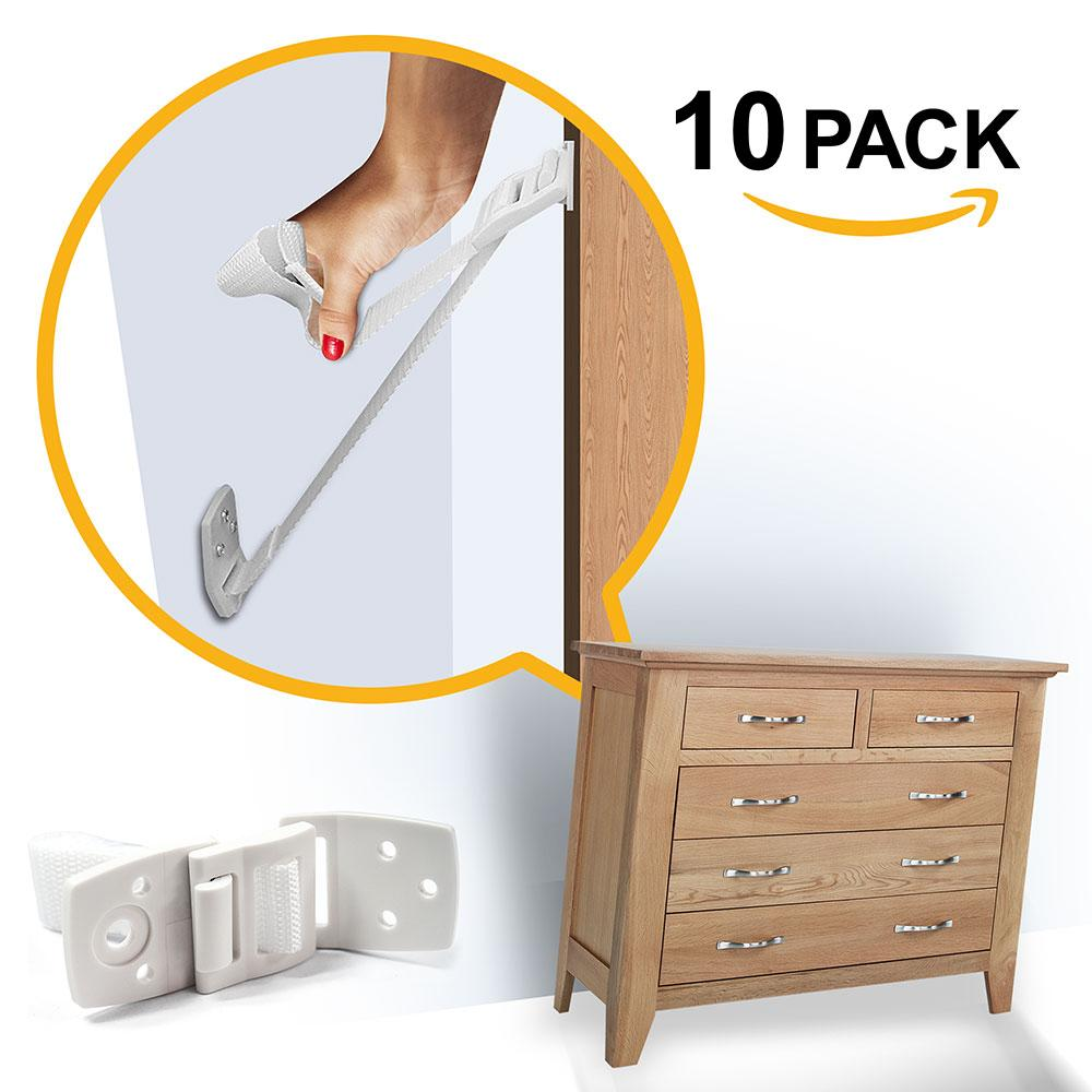 Child Safety Anti Tip Furniture and TV Straps