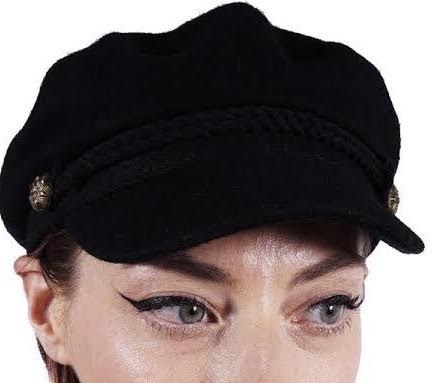 Black Sailor Hat