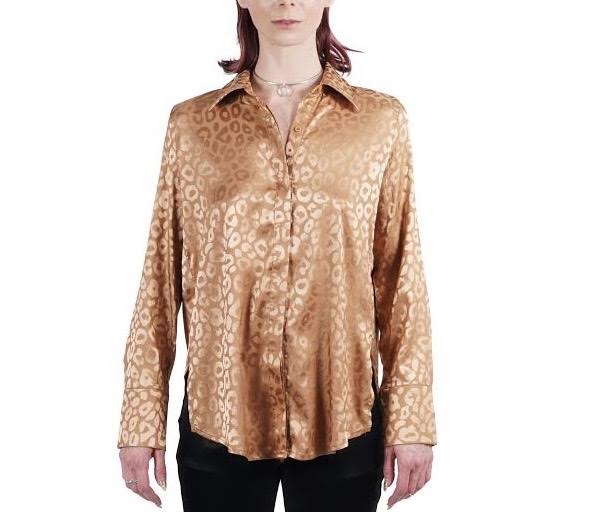Copper Leopard Shirt
