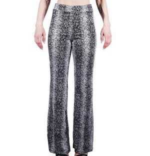 Snakeskin Quilted Trousers
