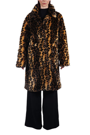 Plush Leopard Vegan Fur