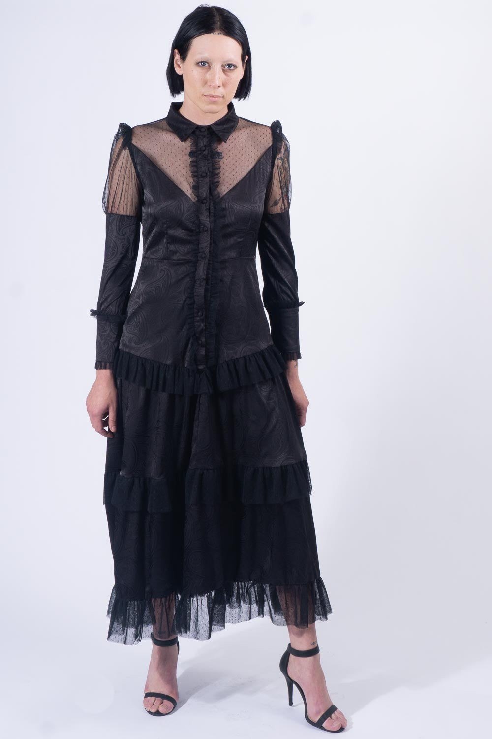Black Gallery Gown
