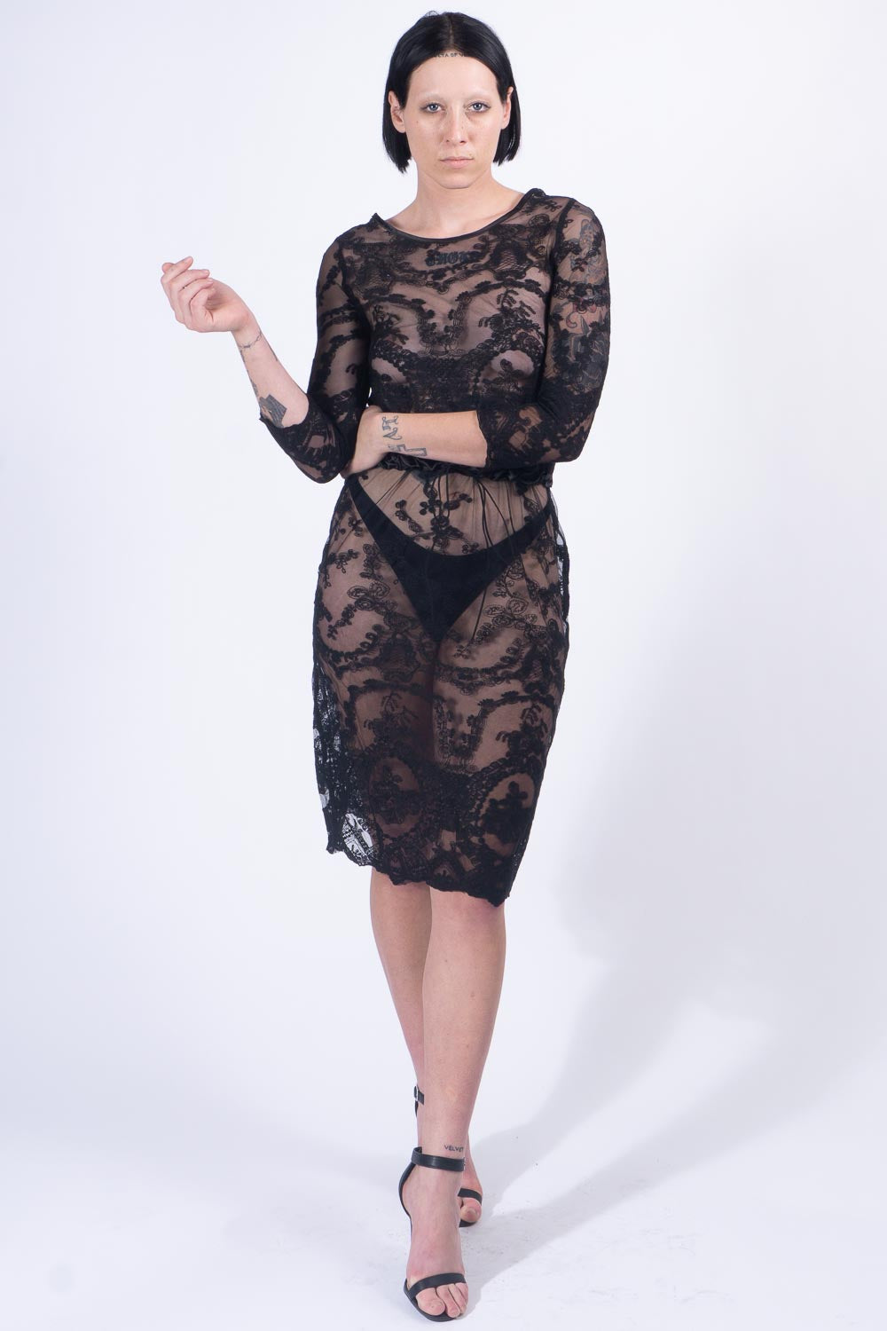Black Lace Overthrow