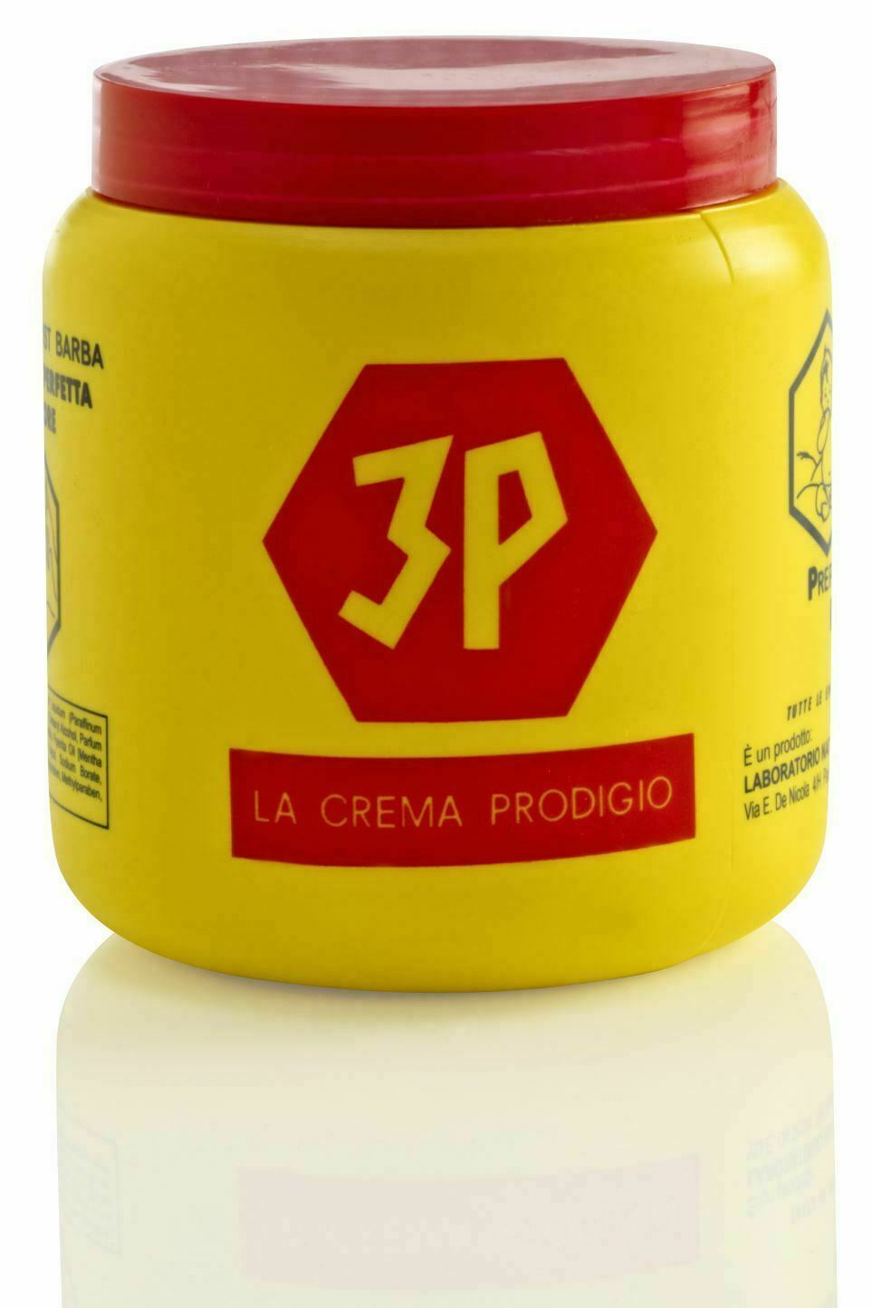 3P Pre and Post Shave Cream - 1000ml