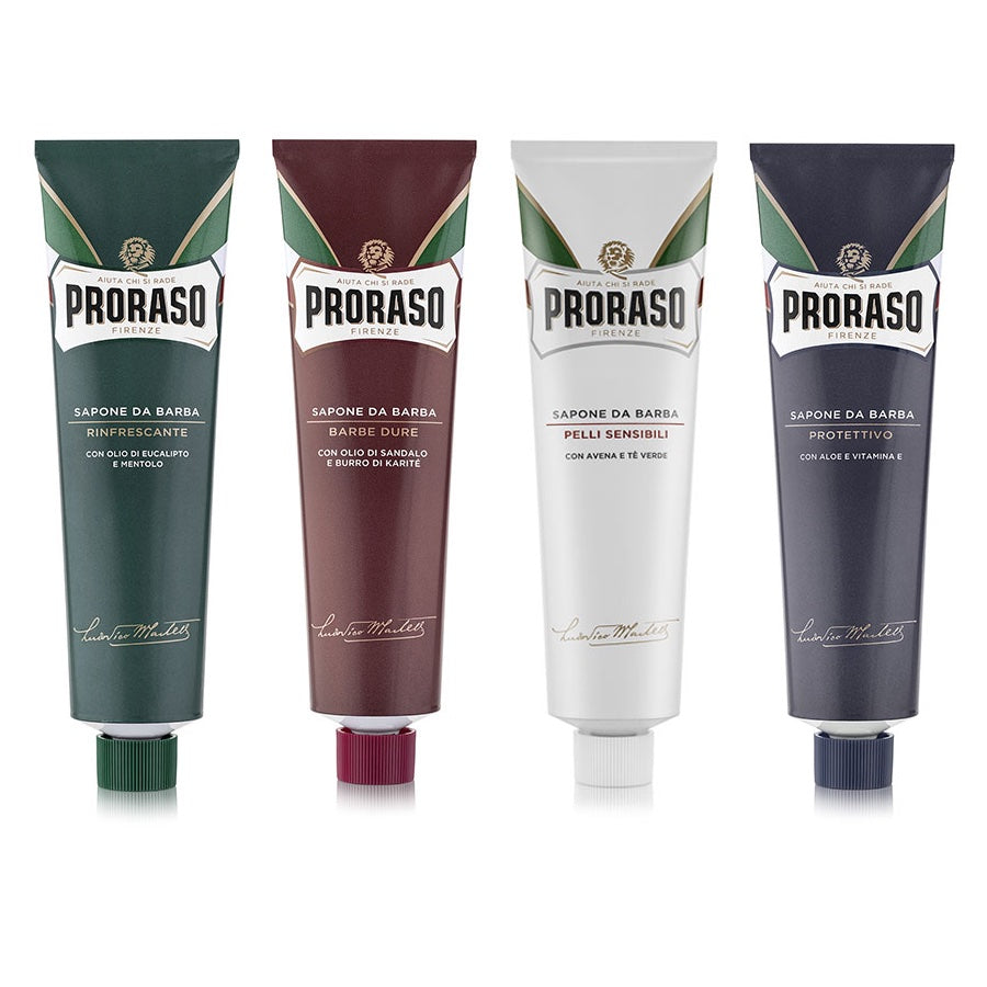 NEW 4 Proraso Shaving Creams - Mixed Selection Pack