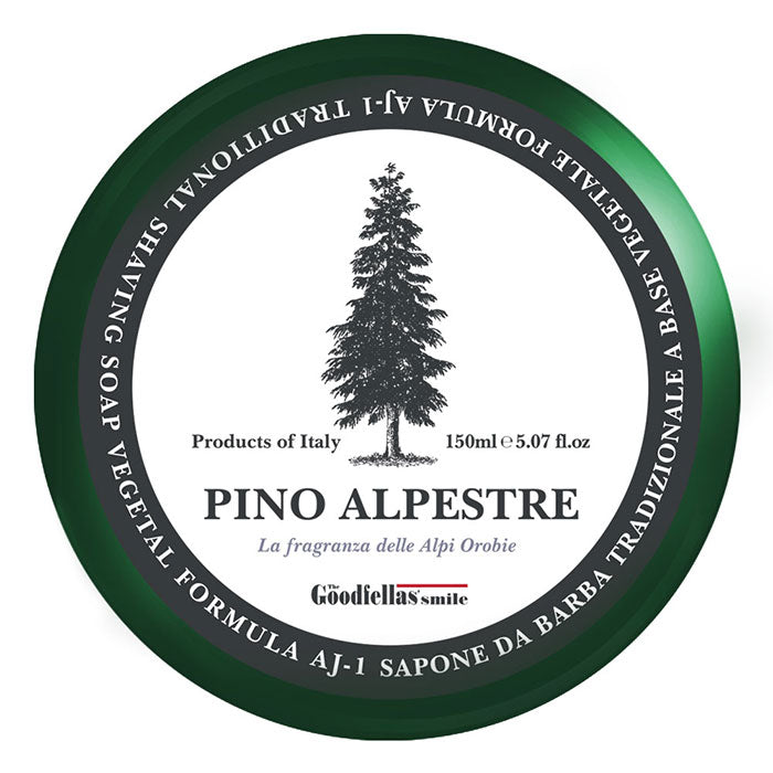NEW TGS The Goodfellas' Smile Pino Alpestre Shaving Soap