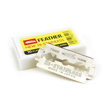 Load image into Gallery viewer, Feather Hi-Stainless Double Edge Razor Blades