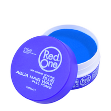 Load image into Gallery viewer, NEW Red One Hair Gel Wax - Blue 150ml Tub