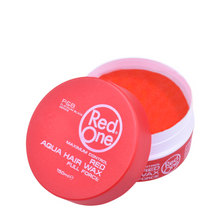 Load image into Gallery viewer, NEW Red One Hair Gel Wax - Red 150ml Tub