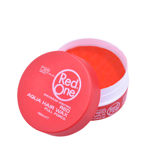 NEW Red One Hair Gel Wax - Red 150ml Tub