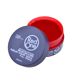 NEW Red One Hair Gel Wax - Quicksilver 150ml Tub