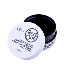 Load image into Gallery viewer, NEW Red One Hair Gel Wax - White 150ml Tub