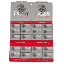 Load image into Gallery viewer, Tiger Platinum Double Edge Razor Blades