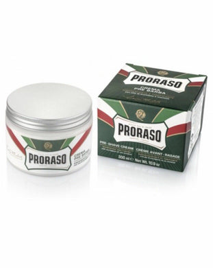 Proraso 300ml XL Menthol and Eucalyptus Pre Shave Cream - Green