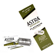 Load image into Gallery viewer, Astra Superior Platinum Double Edge Razor Blades