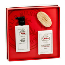 Load image into Gallery viewer, Cella Beard Care Gift Set