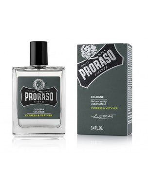 Proraso Cypress Cologne - 100ml Green