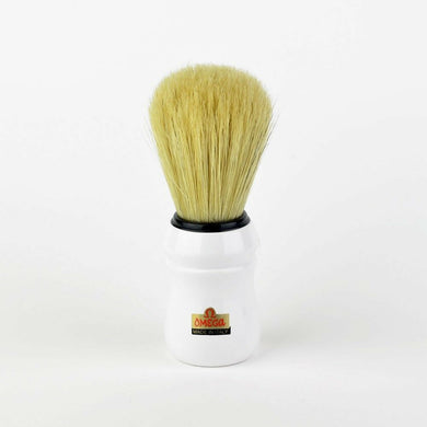 Omega 49 Professional Quality Shaving Brush - White