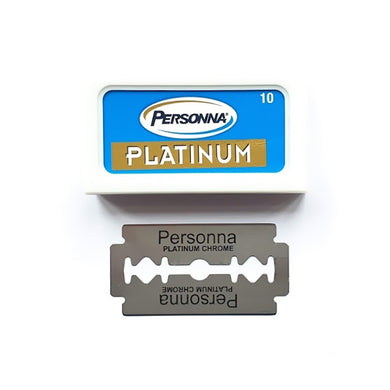 Personna Platinum Chrome Stainless Double Edge Razor Blades