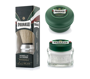3 Piece Shaving Kit - Green