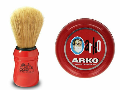Arko Shaving Soap and Omega Shaving Boar Bristle Brush