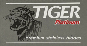 Tiger Platinum Double Edge Razor Blades