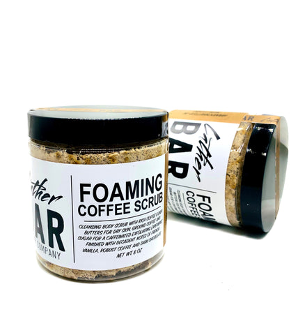 Foaming Coffee Scrub
