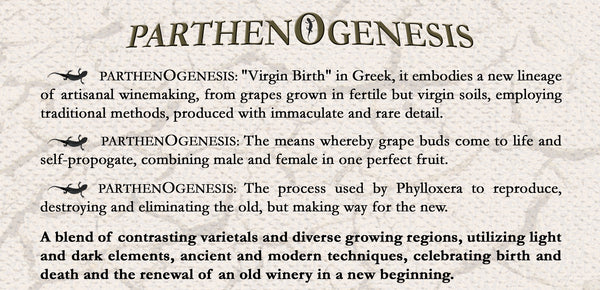 Parthenogenesis - A Reserve Bordeaux Blend